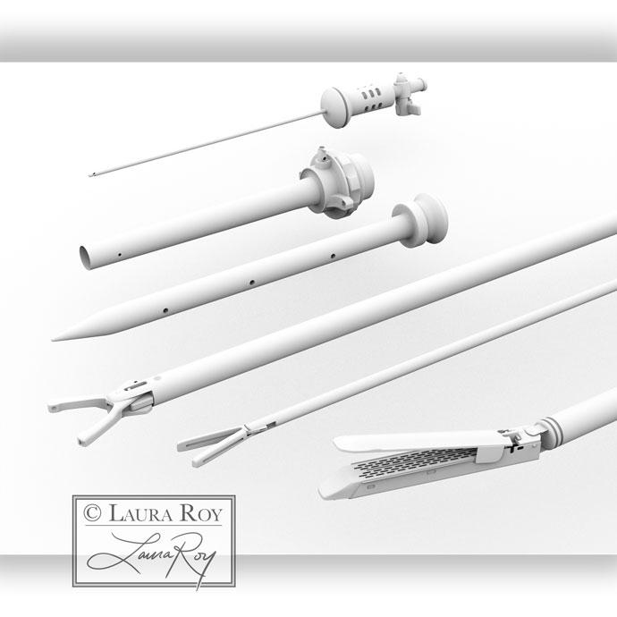 Roy Biomedical Illustration Instruments