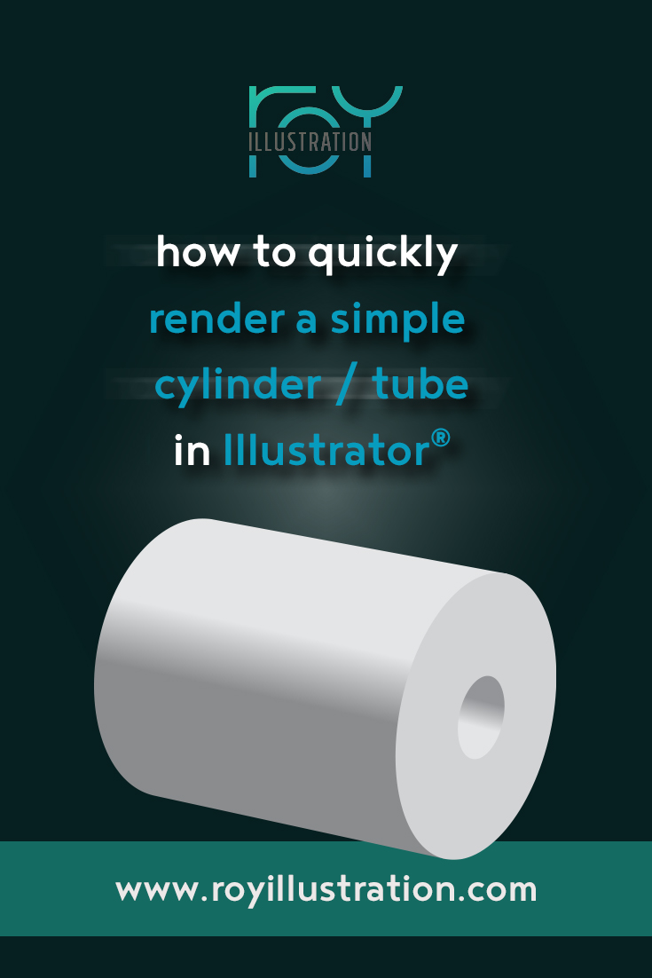 Quick & Simple Cylinder/Tube Rendering In Illustrator