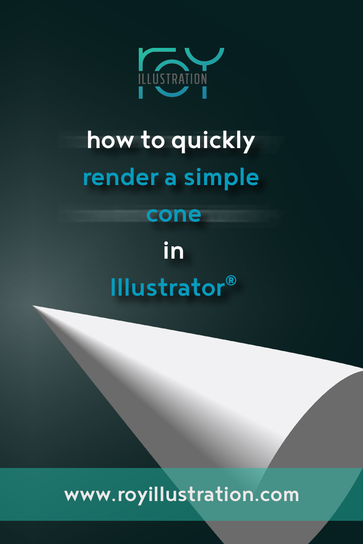 Quick & Simple Cone Rendering In Illustrator